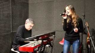 The way we were- acoustic piano cover// Claudia Jay & Luigi Lombardi