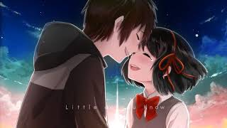 「Nightcore」Little do you Know - Alex & Sierra 「HD」