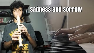 Naruto - Sadness and Sorrow (Flute/Piano) Cover feat. Arthur Diniz