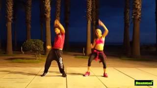Chantaje, Shakira ft. maluma zumba 2017 coreografía David Brasukas ft. Anna Serra