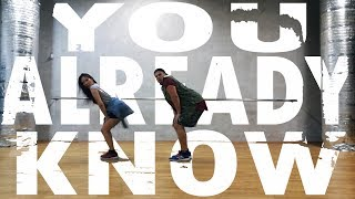 Fergie - You Already Know ft. Nicki Minaj | choreography by Matt Pardus