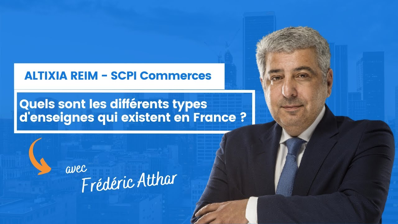 Quels sont les différents types d'enseignes qui existent en France ?