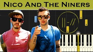 twenty one pilots - Nico And The Niners | Piano tutorial
