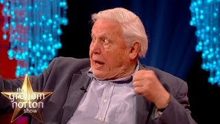 David Attenborough Hit In The Face By A Bat! - The Graham Norton Show