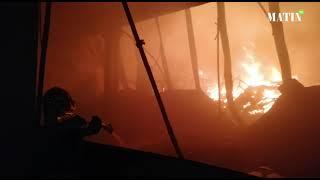 Casablanca: Important incendie dans un dépôt de stockage