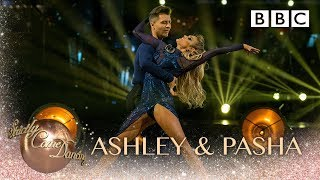 Ashley & Pasha Rumba to 'Something About The Way You Look Tonight' - BBC Strictly 2018