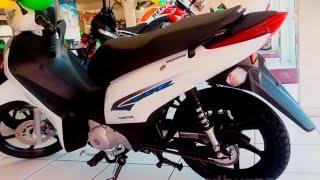 Honda Biz 125 2015 Video preços Ficha Técnica