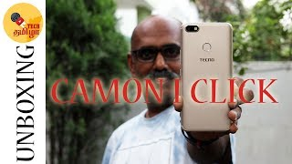Tecno Camon i Click unboxing and first impression review in Tamil