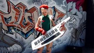 Lara plays Cammy's Theme from Street Fighter