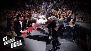 The Undertaker's Most Devastating Chokeslams: WWE Top 10