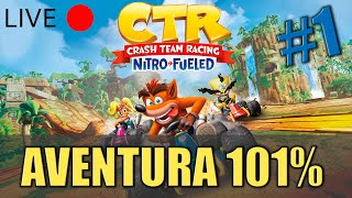 Crash Team Racing Nitro-Fueled - Modo Aventura - Todos Los Trofeos y N. Oxide