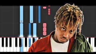 Juice Wrld - Fast (Piano Tutorial)