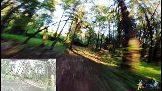 Racing The Gauntlet - Race Drone Session At the Training Grounds - Full Raw Flight No Edit