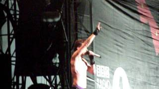 Jared Leto 'Someone Ripped Off My Shirt!' Live Reading Festival