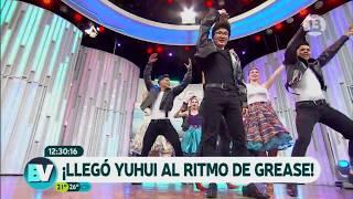¡Yuhui se luce al ritmo de Grease!   Bienvenidos