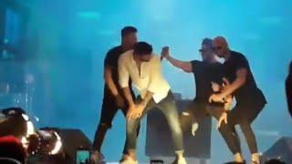 Gusttavo Lima dançando funk no show em Santa Catarina
