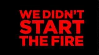 King Charles - We Didn't Start The Fire (Lyrics)