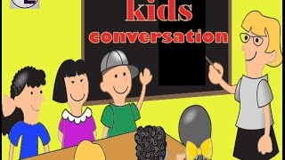 Learn English  for kids -  online learning for kids - Good Morning and daily dialogue for kids