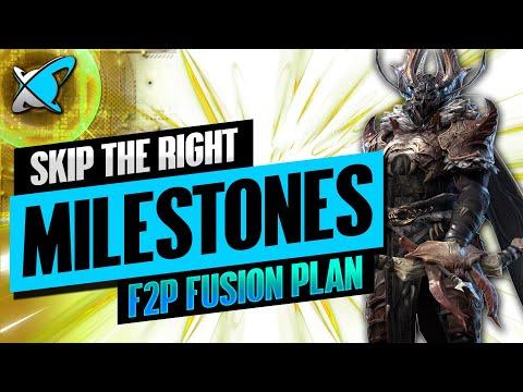 SKIP THE RIGHT MILESTONES | Ruel The Huntmaster Fusion Plan | BGE's Guides | RAID: Shadow Legends