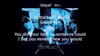 Metallica - Green Hell Lyrics (HD)