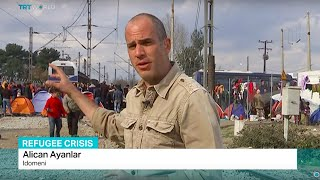 Alican Ayanlar reports the latest updates on humanitarian crisis at the Greek Macedonian border