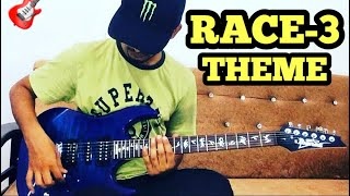 RACE-3 THEME MUSIC ELECTRIC GUITAR COVER (Short) | Bollywood/Hindi Songs on Electric Guitar