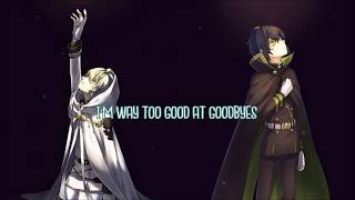 Nightcore (Switching vocals) Too Good at Goodbyes