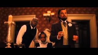 Django Unchained  Leonardo DiCaprio se corta em cena legendado