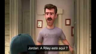Divertida Mente ganhará curta sobre primeiro encontro de Riley!!!