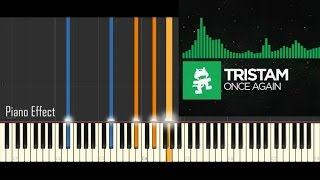 Tristam - Once Again (Piano Tutorial Synthesia)
