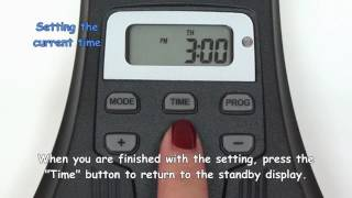 Outdoor Digital Timer - How to set up the programs