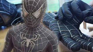 Homem Cria Réplica Perfeita da ROUPA PRETA do Homem-Aranha (Sam Raimi)