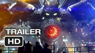 Pacific Rim Official Wondercon Trailer (2013) - Guillermo del Toro Movie HD