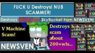Growtopia - BIG Scam! Destroys
