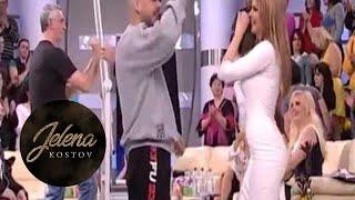 Juice i Jelena Kostov - Rakija i diskoteka - Nedeljno popodne kod Lea Kis - (Tv Pink 2013)