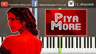 How To Play Piya More Baadshaho on Piano - Piya More Piano Lesson | Free Midi | Chords | Sheets