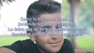 Hasta el amanecer letra - Adexe & Nau (Nicky Jam Cover)