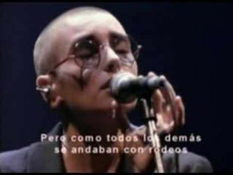 Feel So Different En Espanol de Sinead Oconnor Letra y Video