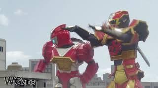 Power Rangers Ninja Steel Red Growth