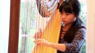 2016 09 Princess Mononoke-Joe Hisaishi-Trang Anh Harp