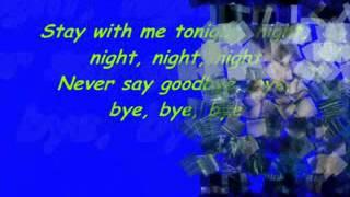 DEEPSIDE DEEJAYS   Stay With Me Tonight Lyrics   YouTube
