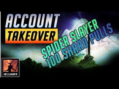 RAID: Shadow Legends | HOW TO GO FROM SPIDER 17 TO 20 AUTO WITHOUT GOOD GEAR! ACCOUNT TAKEOVER!