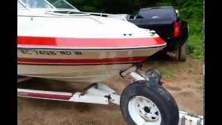 1988 Searay 21' Seville Bowrider Boat