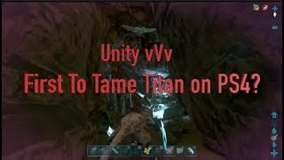 First Extinction Titan Tamed On Console vVv Official Servers