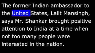 Biography - SR - Ravi Shankar - Godfather of World Music