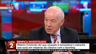 Ribeiro Cristóvão fala em campanha para que Benfica não consiga o pentacampeonato