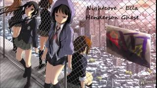 Nightcore - Ella Henderson Ghost