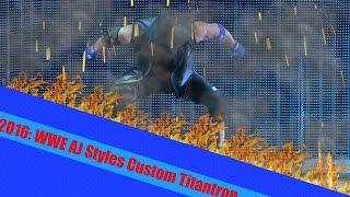 WWE AJ Styles Custom Titantron 2016