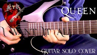 I Want It All Guitar Solo Cover - Queen