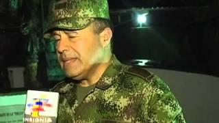 General Alejandro Navas visita la Fuerza de Tarea Omega
